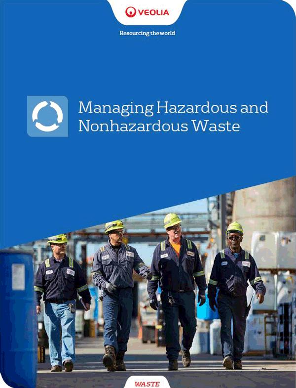 managing hazardous and non-hazardous waste
