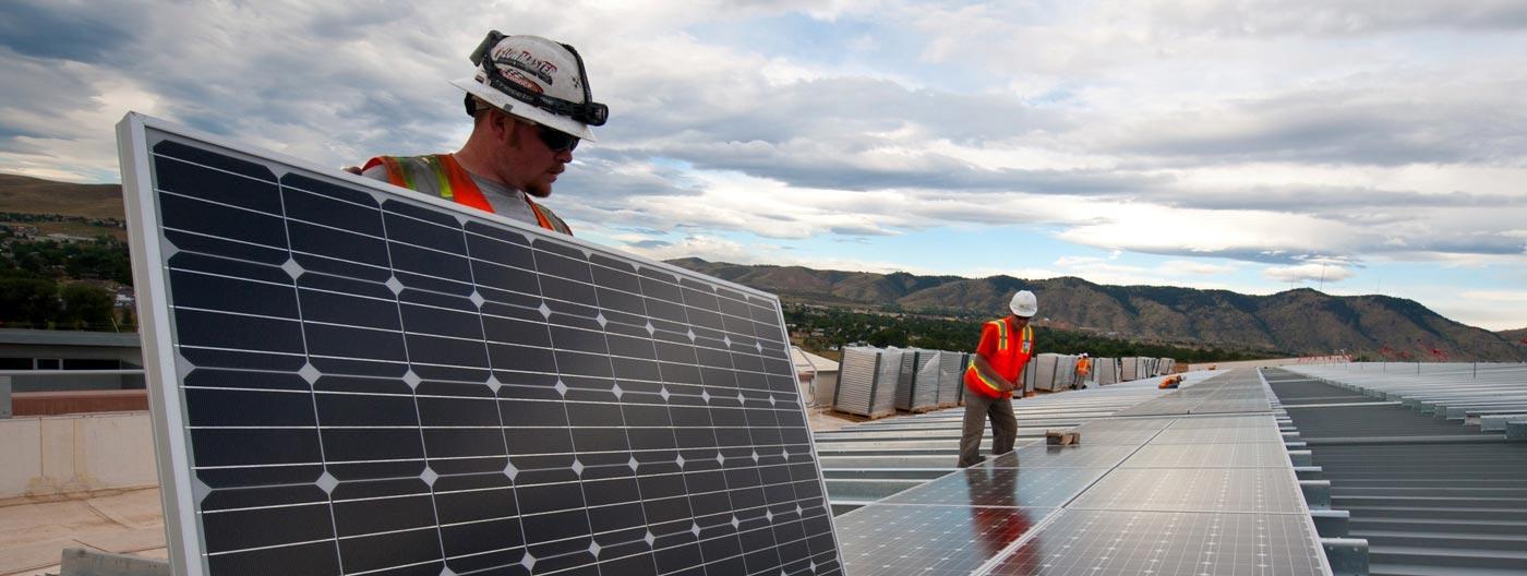 monocrystalline-solar-panel-installation