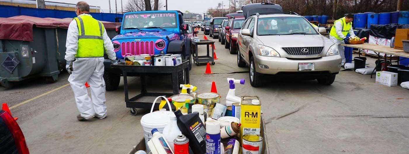 Veolia household hazardous waste day