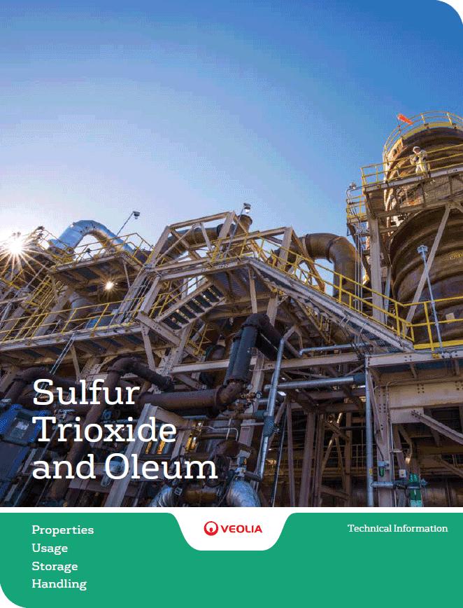 Sulfur trioxide and oleum PUSH