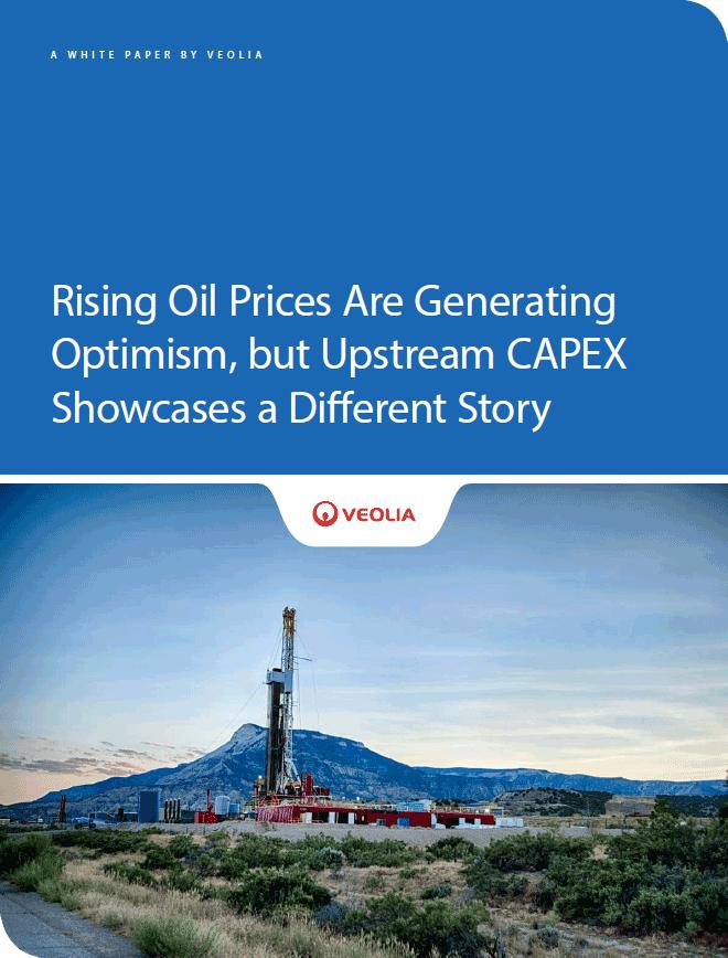 Rising oil prices, upstream CAPEX