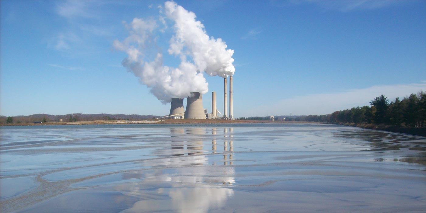 power plant ash pond management