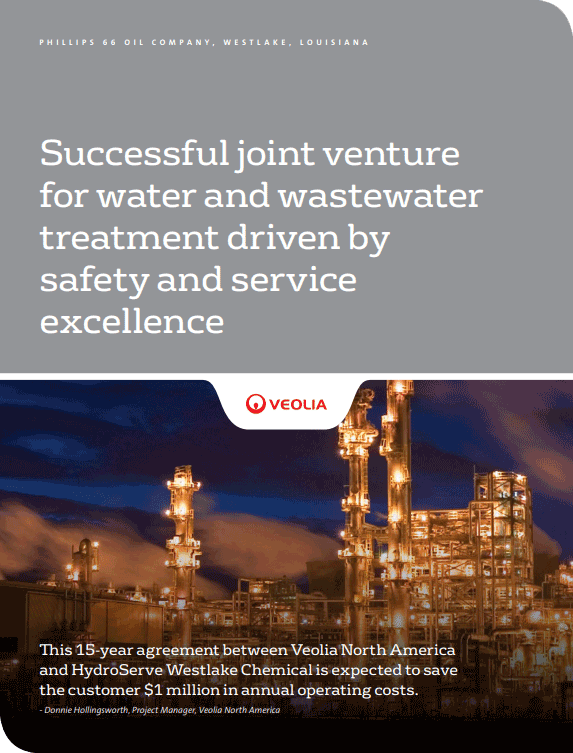 Westlake Chemical water and wastewater treatment case study
