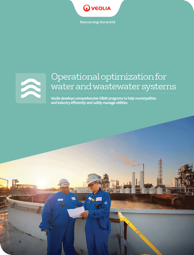 Operational optimization for water and wastewater systems